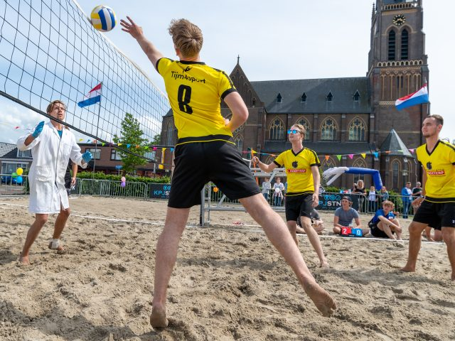 09-06-2019: Beachvolleybaltoernooi KPJ Sint Nyk